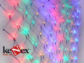 vanocni led svetelna sit 3 x 2 m barevna 320 diod