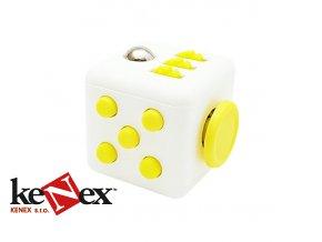 fidget cube bilo zluty 2