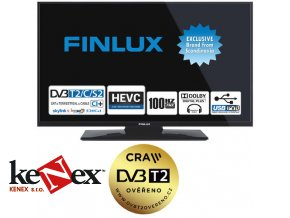 finlux tv24fhb4760 t2 sat led hd televizor dvb s2 t2 c 100hz