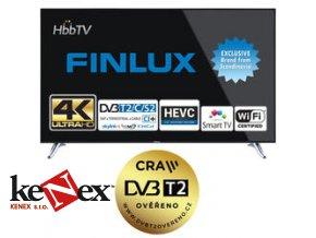 finlux tv65fua8060 uhd t2 sat wifi