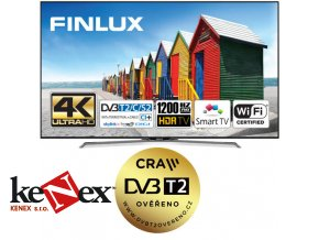 finlux tv55fuc8060 hdr uhd t2 sat wifi