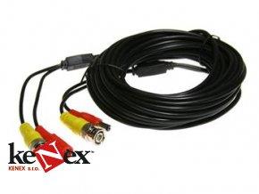 vnitrni propojovaci kabel koaxialni s bnc napajeni 10 metru