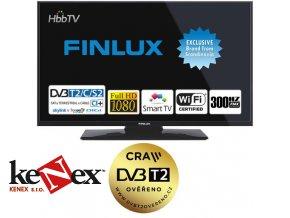 finlux tv40ffc5660 t2 sat hbbtv smart wifi