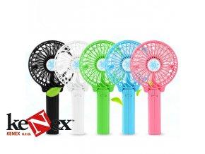 Ventilátor ruční nabíjecí USB Mini Fan