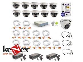 kamerovy set hikvision proffesional 1 venkovni 10 vnitrni