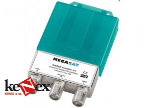 megasat diseqC switch 2 1