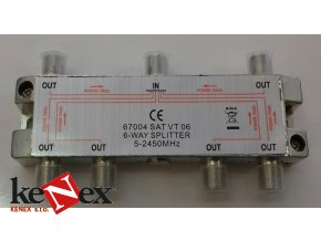 maximum 6 1 antenni rozbocovac as 6 rozsah 5 2500 mhz f konektor