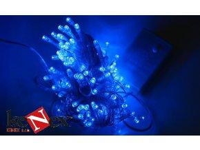 vanocni led osvetleni 10 m modre 100 led