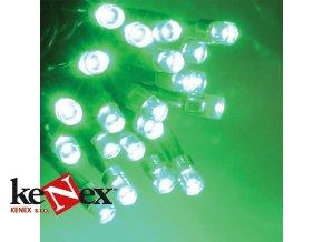 lg vanocni led osvetleni 10 m zelene 100 led