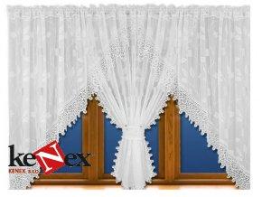luxusni hotova kusova zaclona rozalie 400x160 cm 1