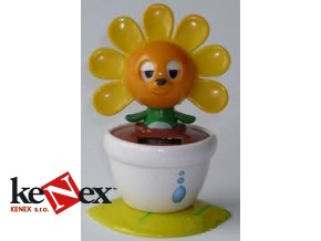 solarni hracka tancici kvet