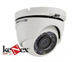 hikvision ds 2ce56d0t irmf venkovni 2 mpixturbo hd turret kamera