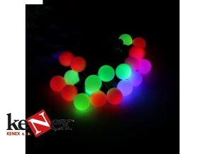 lg vanocni led osvetleni 6 m kulicky barevne 40 led
