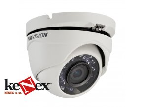 hikvision ds 2ce56d5t irm 2 mpix turbo hd dome kamera