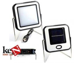 solarni lampa pro camping a dum