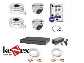 kamerovy set hikvision standart 2 vnitrni