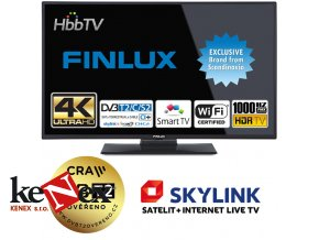 finlux 49fud7060 uhd sat t2 smart wifi skylink live