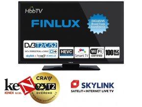 finlux 24fhd5760 ultratenka t2 sat wifi skylink live