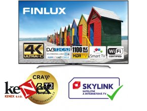 finlux 49fue8160 hdr uhd t2 sat wifi skylink live