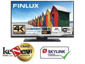 finlux 50fud7060 uhd sat t2 smart wifi skylink live