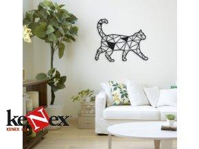Obraz na stěnu z dřevěné překližky - Kočka