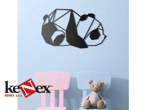 Obraz na stěnu z dřevěné překližky - Panda