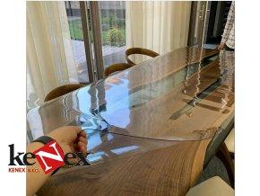ubrus na stul z mekkeho skla 46 5x369 cm