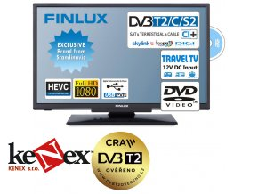 finlux 22fdmf4760 t2 sat dvd 12v