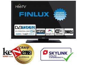 finlux 24fhe5760 ultratenka t2 sat wifi skylink live