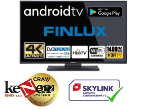 finlux 50fuf7070 android tv hdr uhd t2 sat wifi