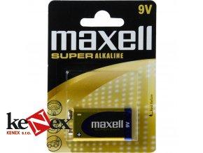 baterie maxell alkaline 9v 1ks