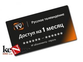 kartina tv predplatne 1 mesic