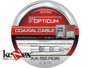 koaxialni kabel opticum rg6 ax