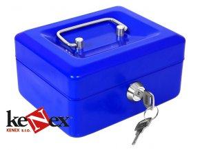 pokladnicka ax box 150 modra