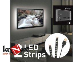 USB LED osvětlení pro televizory