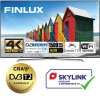 finlux 55fue8160 hdr uhd t2 sat wifi skylink live