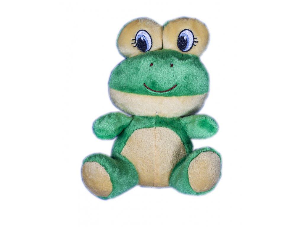 Plyšová hračka Žabka sedící - 20 cm
