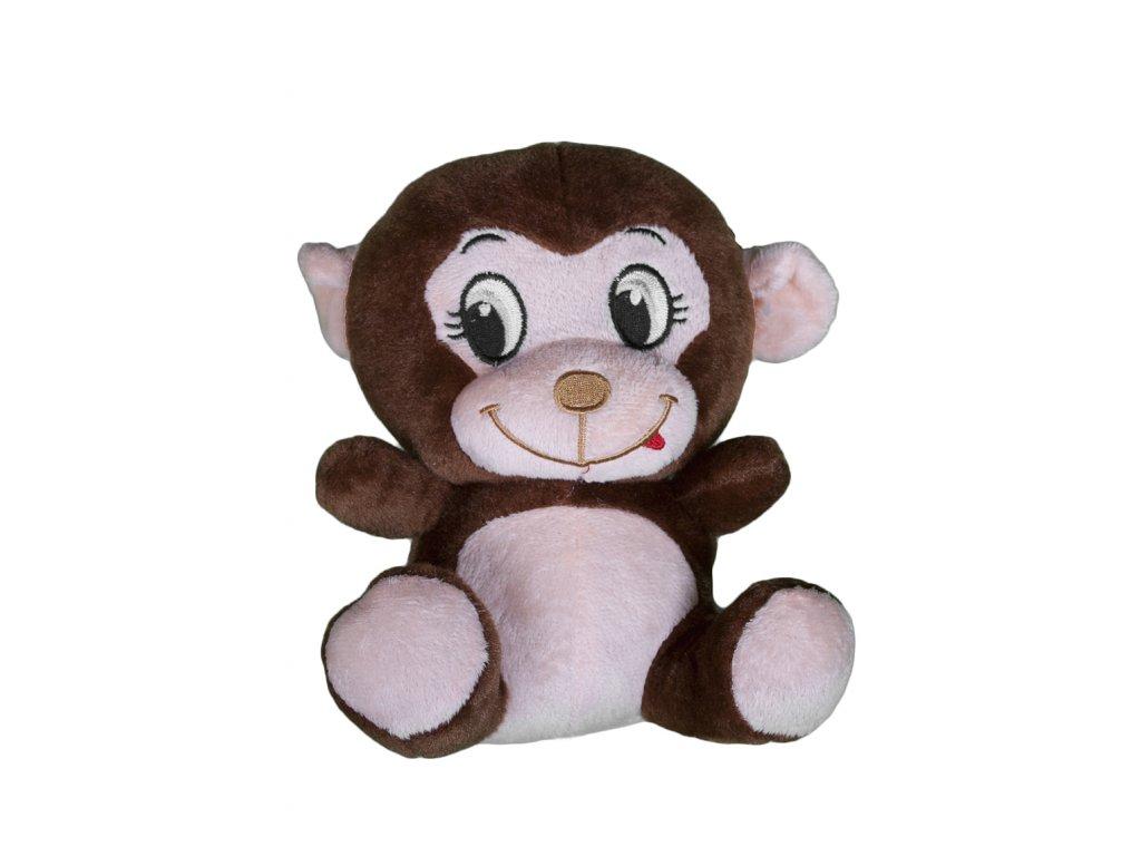 Plyšová hračka Opice sedící 20 cm