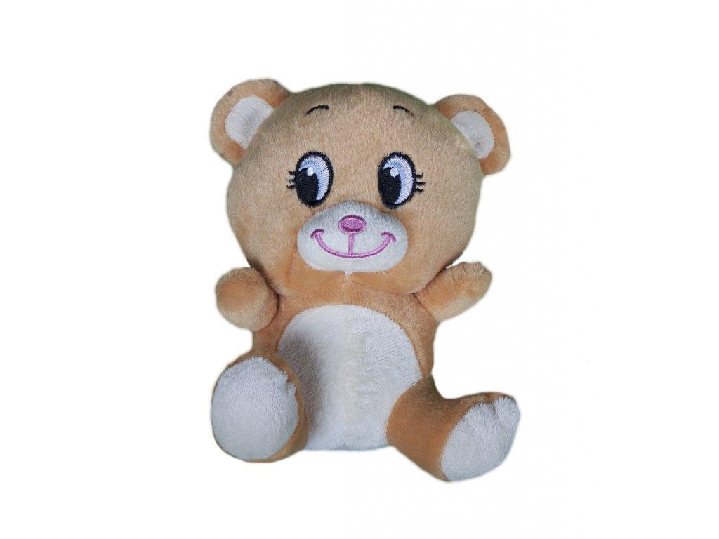 1081 plysova hracka medvidek sedici 20 cm