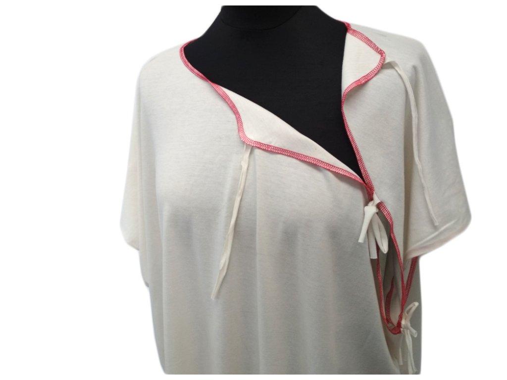 Bondtriko Zero porodní košilka bez nápisu-smetanová