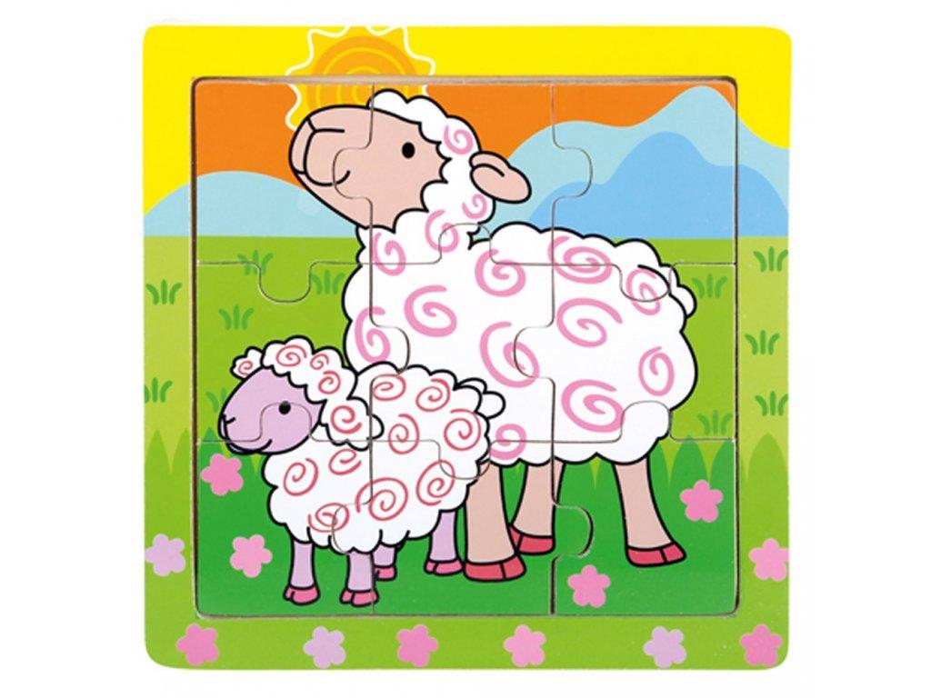 Puzzle ovečky
