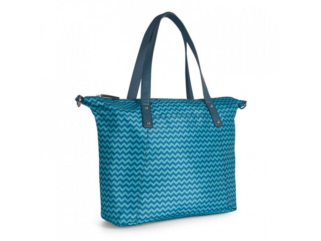 Přebalovací taška na kočárek pro maminky modrá