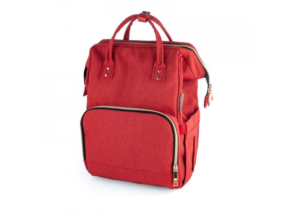 Přebalovací batoh červený