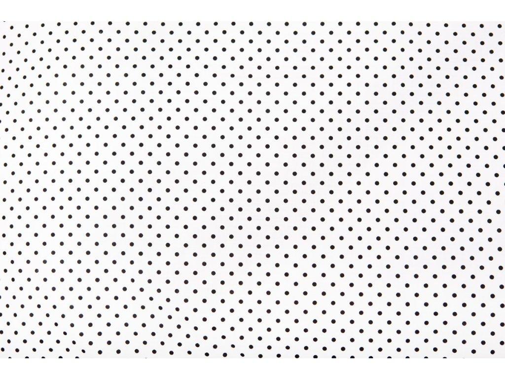 bílá černý puntík koláž