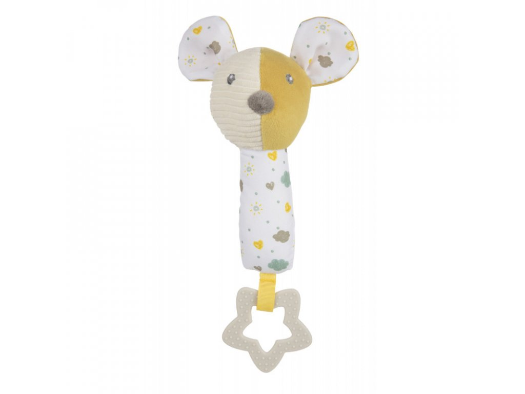 canpol babies hebka piskaci cinka s kousatkem mouse