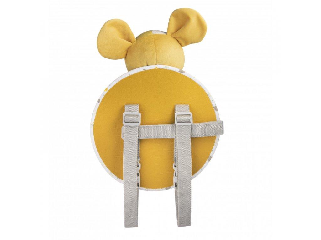 canpol babies hebky mazlicek se zrcatkem do auta mouse