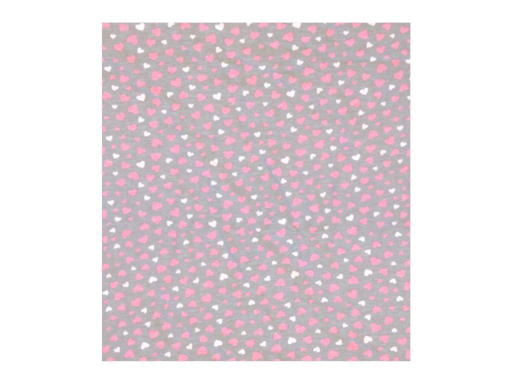 minky růžová přikrývka