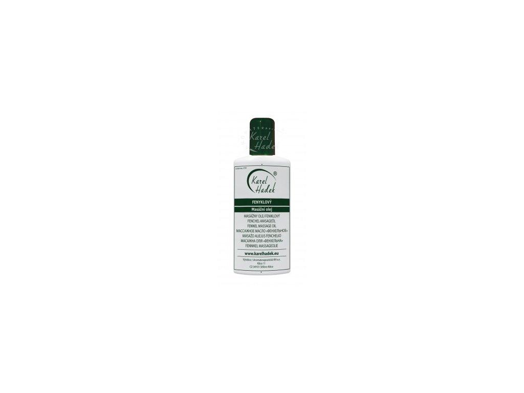 Fenyklový masážní olej 100ml