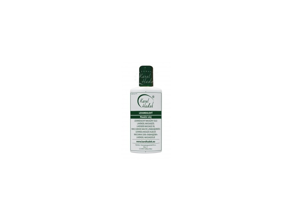 Levandulový masážní olej 20ml