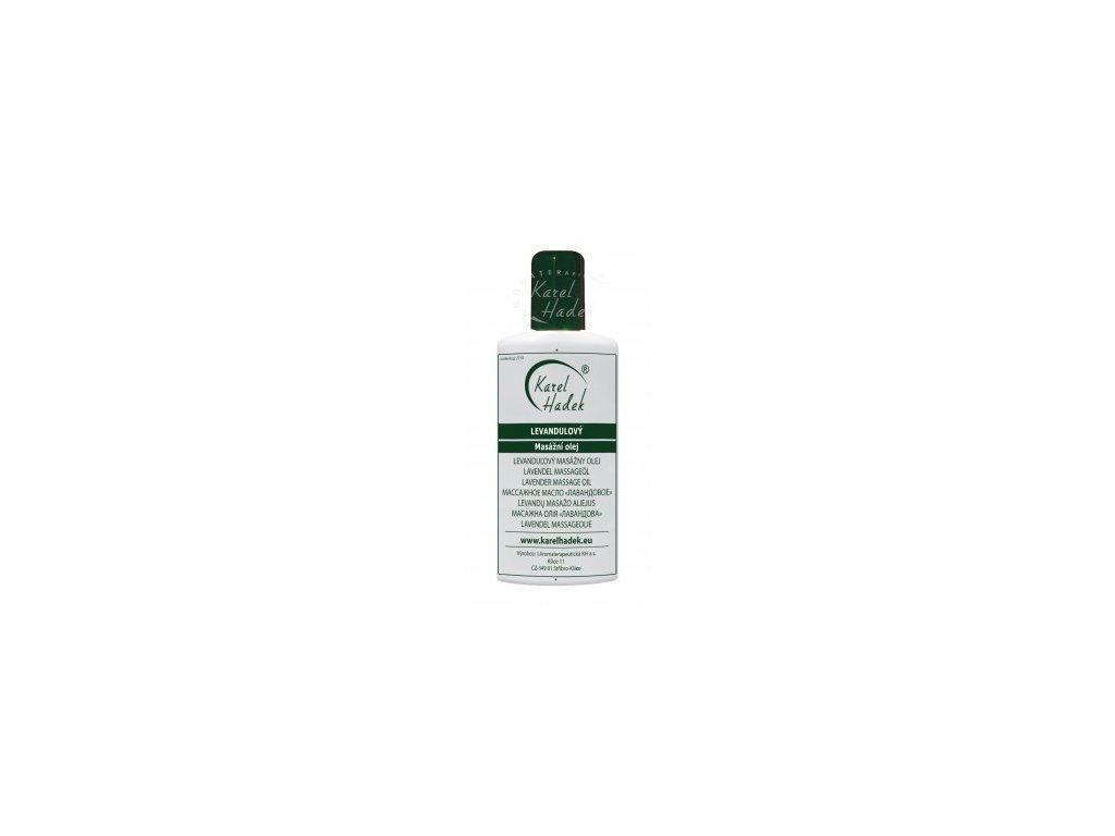 Levandulový masážní olej 100ml